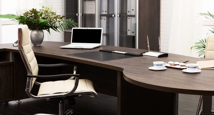 how to buy office furniture online and build business credit