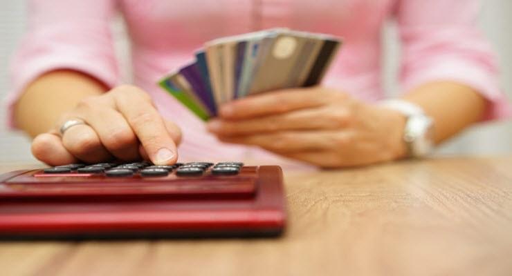 credit card utilization ratios